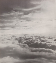"Gerhard Richter, ""Clouds,"" 1969, offset lithograph, white card, Dallas Museum of Art, Dallas Museum of Art League Fund, Roberta Coke Camp Fund, General Acquisitions Fund, DMA/amfAR Benefit Auction Fund, and the Contemporary Art Fund: Gift of Mr. and Mrs. Vernon E. Faulconer, Mr. and Mrs. Bryant M. Hanley, Jr., Marguerite and Robert K. Hoffman, Howard E. Rachofsky, Deedie and Rusty Rose, Gayle and Paul Stoffel, and two anonymous donors, 1999.217, © Gerhard Richter, Cologne, Germany"