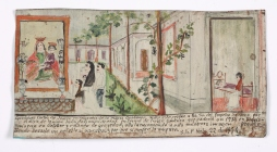 Retablo Dedicated by Guadalupe Cortes de Juarez, Latin American, November 22, 1914, Dallas Museum of Art, gift of Mr. and Mrs. Stanley Marcus Foundation