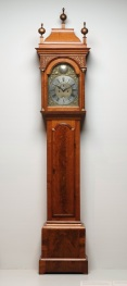 Benjamin Bagnall Sr., Tall case clock, 1730-1745, Dallas Museum of Art, The Faith P. and Charles L. Bybee Collection, gift of Mr. and Mrs. Ross Perot, 1985.B.4