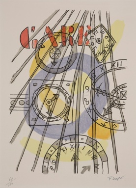 Fernand Legér, Clocks, date n.d., Dallas Museum of Art, gift of Mr. and Mrs. Alfred L. Bromberg, © Artists Rights Society (ARS), New York / ADAGP, Paris, 1962.60