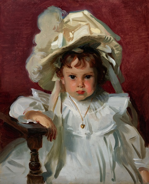 John Singer Sargent, Dorothy, 1900, oil on canvas, Dallas Museum of Art, gift of the Leland Fikes Foundation, Inc. 1982.35