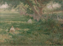 Julian Onderdonk, Springtime, 1901, oil on canvas, Dallas Museum of Art, gift of Edwin J. Kiest 1904.1