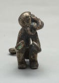 Monkey, 900, Peru, silver, Dallas Museum of Art, The Nora and John Wise Collection, gift of Mr. and Mrs. Jake L. Hamon, the Eugene McDermott Family, Mr. and Mrs. Algur H. Meadows and the Meadows Foundation, Incorporated, and Mr. and Mrs. John D. Murchison 1976.W.1136