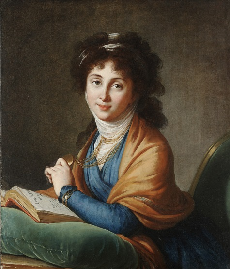 Elisabeth Vigée-Lebrun, Portrait of Madame Nakharovna, née Hitrova, 1799, oil on canvas, Dallas Museum of Art, The Michael L. Rosenberg Collection, 29.2004.13