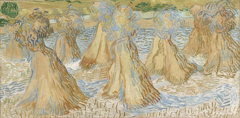 Vincent van Gogh, Sheaves of Wheat, July 1890, oil on canvas,, Dallas Museum of Art, The Wendy and Emery Reves Collection, 1985.R.80
