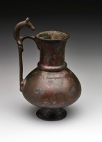 Iran, Jug, 9th-10th century, bronze, The Keir Collection of Islamic Art on loan to the Dallas Museum of Art, K.1.2014.62