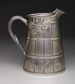 Baily & Co., Beer pitcher, 1858-1860, silver, Dallas Museum of Art, gift of the Professional Members League, 1993.17