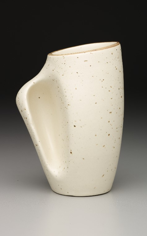 Gaetan Beaudin, Décor Pottery, Beer mug, 1951, molded and glazed earthenware, Dallas Museum of Art, gift of Jo-Anne and Ross Young, 2002.42.1 (Canada)