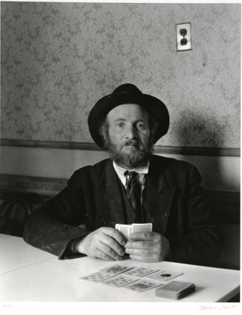 """Berenice Abbott, """"East Side Portrait,"""" 1938, print 1983, gelatin silver print, Dallas Museum of Art, Foundation for the Arts Collection, gift of Morton and Marlene Meyerson, 1984.49.29.FA, © Estate of Berenice Abbott"""