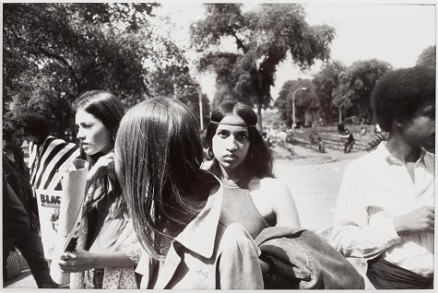 """Garry Winogrand, """"Untitled (Central Park),"""" from the series """"Women are Beautiful,"""" 1975, gelatin silver print, Dallas Museum of Art, gift of Paul Brauchle, 1995.153"""