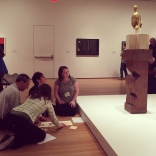 Amanda taught at MoMA as part of The Art of Examination forum.