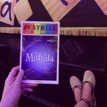 While in New York, Amanda and her mom saw the Broadway musical Matilda.