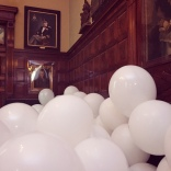 Amanda saw the Martin Creed installation at the Park Avenue Armory while in New York.