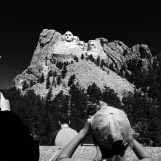 Jessica's daughter Julia loved seeing Mount Rushmore up close and personal!