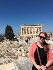 Madeleine finally visited the Acropolis! A dream she's had since her first art history class in high school.