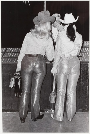 Geoff Winningham, Lamé Pants, Houston Livestock Show and Rodeo, negative 1972, print 1976, gelatin silver print, Dallas Museum of Art, gift of Prestonwood National Bank 1981.36.13