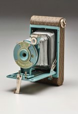 "Walter Dorwin Teague, ""Kodak petite"" camera, designed 1927, Dallas Museum of Art, gift of David T. Owsley."