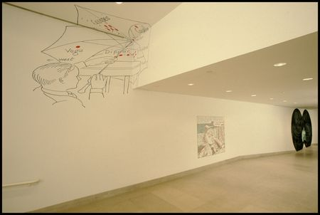 Concentrations 17: Vernon Fisher, Lost for Words, January 23–April 17, 1988
