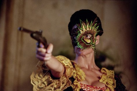 Yinka Shonibare, M.B.E., A Masked Ball (Un ballo mascherd), 2004, high-definition digital video, DMA/amfAR Benefit Auction Fund, 2008.26