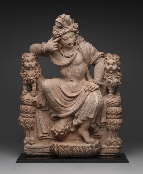 Thinking Bodhisattva, Asian, 4th-6th century C.E., terracotta, Dallas Museum of Art, Wendover Fund, gift of David T. Owsley via the Alvin and Lucy Owsley Foundation, the Cecil and Ida Green Acquisition Fund, and General Acquisitions Fund, 2010.17