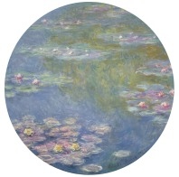 Claude Monet, Water Lilies, 1908. Dallas Museum of Art, gift of the Meadows Foundation, Incorporated