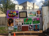The Stewpot Artists' work on display.