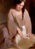 Thomas Sully, Cinderella at the Kitchen Fire, 1843 Dallas Museum of Art, gift of the Pauline Allen Gill Foundation