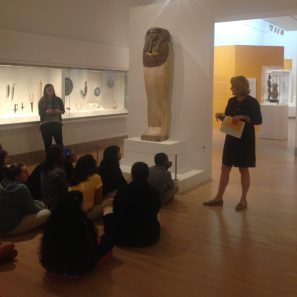 Joanie Smith and her group explore the Coffin of Horankh, c. 700 B.C.E.