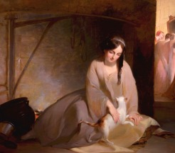 Thomas Sully, Cinderella at the Kitchen Fire, 1843, Dallas Museum of Art, gift of the Pauline Allen Gill Foundation.