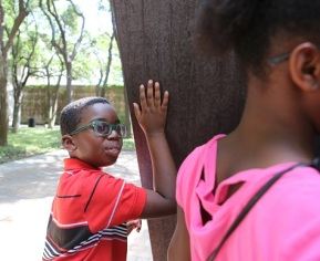 Photos from the DISD Vision Impairment Tour. Images taken on Monday, June 20, 2016.