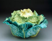 """Cabbage"" tureen and cover, sceaux factory (French, Born 1748), c. 1755"