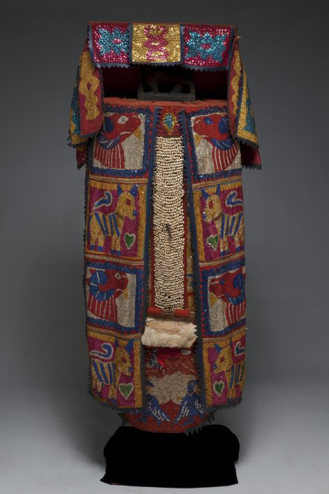 Engungun costume, Late 20th century, mixed media, Dallas Museum of Art, gift of Pace Primitive Gallery, New York, 2008.99.1