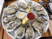 Gulf oysters from Rex's Fresh Seafood in The Market