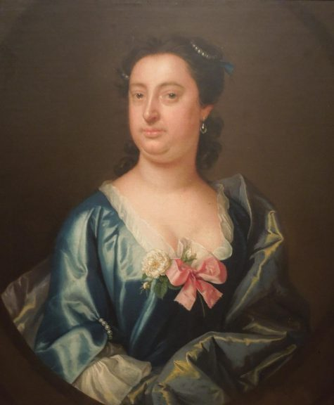 Artist unknown, Portrait of a Lady, Possibly Edward Hyde, Lord Cornbury in a Dress, c. 1705-1750, oil on canvas, Dallas Museum of Art, gift of Alta Brenner in memory of her daughter Andrea Bernice Brenner-McMullen, 1992.47