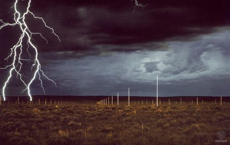 Walter De Maria's The Lightning Field, Quemado, New Mexico