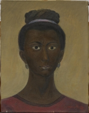 "Carlos Orozco Romero, ""Head,"" 1946, oil on canvas, Dallas Museum of Art, Dallas Art Association Purchase, 1951.107"