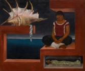 "Roberto (Nervo) Montenegro, ""The Shell,"" c. 1936, oil on composition board, Dallas Museum of Art, Dallas Art Association Purchase, 1951.84"