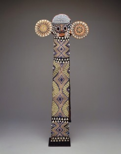 Elephant Mask (mbap mteng), Africa, Cameroon, Bamilehe peoples, c. 1920-1930, Dallas Museum of Art, Textile Purchase Fund