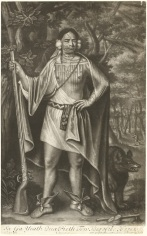 John Simon after John Verelst, Sa Ga Yeath Qua Pieth Tow, King of the Maquas, after 1710, mezzotint, National Gallery of Art, Washington, Paul Mellon Fund