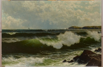 "Alfred Thompson Bricher, ""Seascape,"" c. 1885-90, oil on canvas, Dallas Museum of Art, bequest of Margaret M. Ferris, 1990.151"