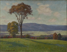 "Edward Burgess Butler, ""O'er Hill and Dale,"" 1920, oil on canvas, Dallas Museum of Art, gift of Mr. A. M. Matson, 1921.4"